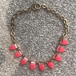 Stella and Dot Hot Pink Necklace